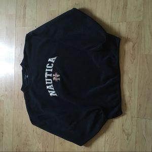 Nautica fleece crewneck sweater